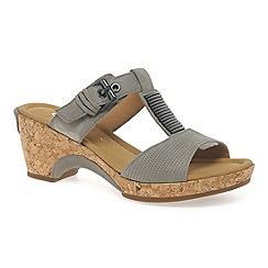 Gabor - Beige 'Shannon' modern women's sandals