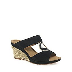 Gabor - Black 'Sizzle' modern women's sandals