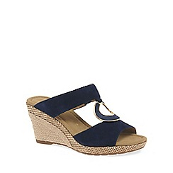 Gabor - Blue 'Sizzle' Modern Womens Sandals