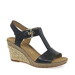 Gabor - Black 'Karen' womens modern sandals