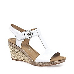 Gabor - White 'Karen' womens modern sandals