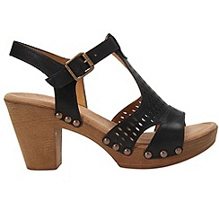 Gabor - Black 'Kashmir' women's modern buckle fastening sandals