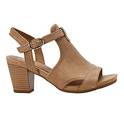 Gabor - Light tan 'Luck' womens modern sandals