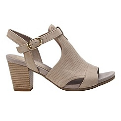 Gabor - Beige 'Luck' womens modern sandals
