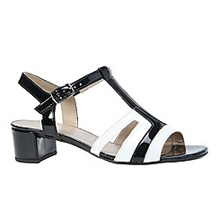 Gabor - Black 'location' women's modern sandals