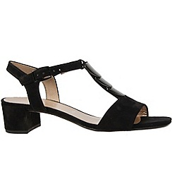 Gabor - Black 'granada' womens modern sandals