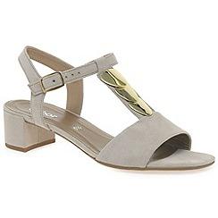 Gabor - Beige 'granada' womens modern sandals