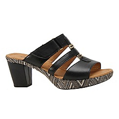 Gabor - Black 'rainbow' women's modern sandals
