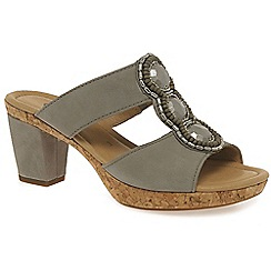 Gabor - Beige 'illuminate' women's modern sandals