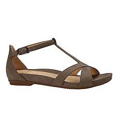 Gabor - Beige 'Exclusive' womens modern t bar sandals