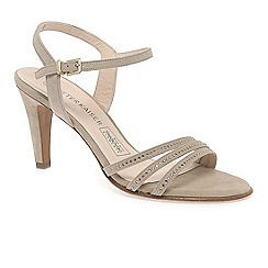 Peter Kaiser - Beige 'Palona' women's swarovski crystal dress sandals