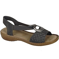 Rieker - Grey 'New york' womens sandals