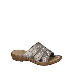 Rieker - Metallic 'Avara' women's sandals