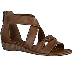 Marco Tozzi - Brown 'Jules' womens sandals