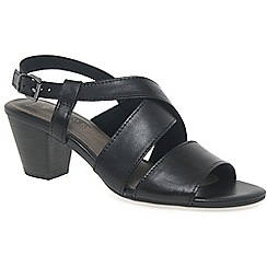 Marco Tozzi - Black 'Carrie' womens sandals