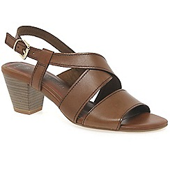 Marco Tozzi - Brown 'Carrie' womens sandals