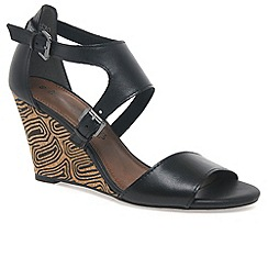 Marco Tozzi - Black 'samantha' womens fashion sandals