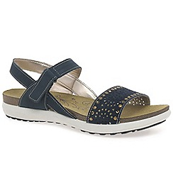 Van Dal - Navy 'South' womens sandals