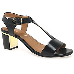 Van Dal - Black 'malone' womens fashion sandals