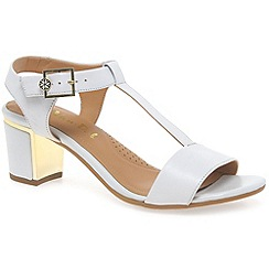 Van Dal - White 'malone' womens fashion sandals