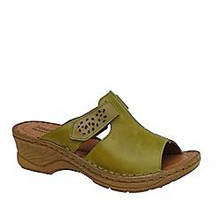Josef Seibel - Green 'Catalonia' Womens Sandals