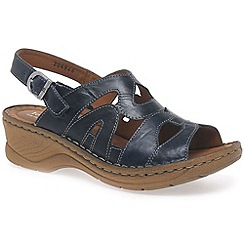 Josef Seibel - Navy 'craft 46' womens sandals