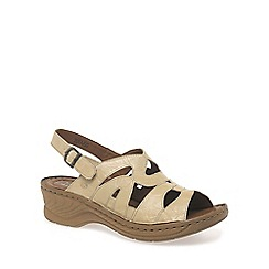 Josef Seibel - Cream 'craft 46' womens sandals