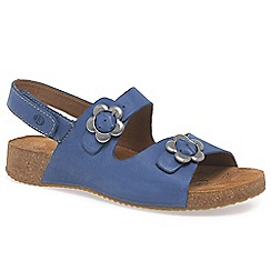 Josef Seibel - Blue 'Tonga' women's buckle fastening sandals