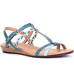 Pikolinos - Blue 'Allure' womens buckle fastening sandals