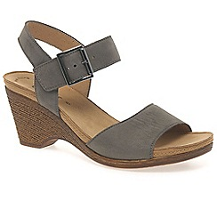 Gabor - Grey 'Space' womens sandals