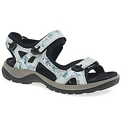 Ecco - Light blue 'Yucatan (off road)' ladies sandals