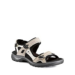Ecco - Beige 'Yucatan (Off Road)' Ladies Sandals