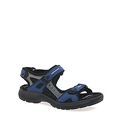 Ecco - Blue 'Yucatan (Off Road)' Ladies Sandals