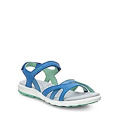 Ecco - Blue 'Cruise' Womens Casual Sandals