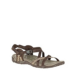 Merrell - Brown 'Terran Lattice II' Womens Sandals