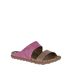 Merrell - Dark pink 'Around Town Slide' Womens Casual Mules