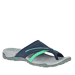 Merrell - Navy 'Terran Post II' Womens Sandals