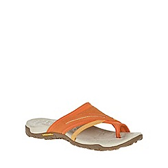 Merrell - Orange 'Terran Post II' Womens Sandals