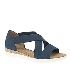 Gabor - Navy 'Promise' womens sandals