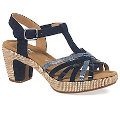 Gabor - Blue 'Cheri' Womens Sandals