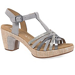 Gabor - Grey 'Cheri' Womens Sandals