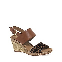 Gabor - Brown 'Anna' Womens Sandals
