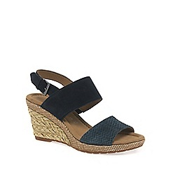 Gabor - Dark blue 'Anna' Womens Sandals