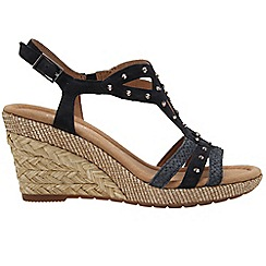 Gabor - Navy 'Patriot' Womens Sandals