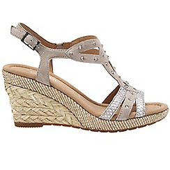 Gabor - Taupe 'Patriot' Womens Sandals