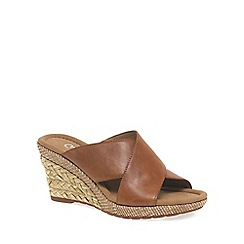 Gabor - Tan 'Purpose' Womens Modern Sandals