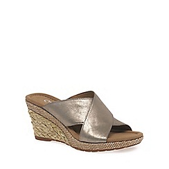 Gabor - Gold 'Purpose' Womens Modern Sandals
