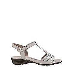 Gabor - Light grey 'Spectacular' Womens Sandals