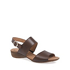 Gabor - Tan 'Prosper' Womens Casual Sandals