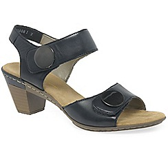 Rieker - Navy 'Sahara' Womens Casual Sandals